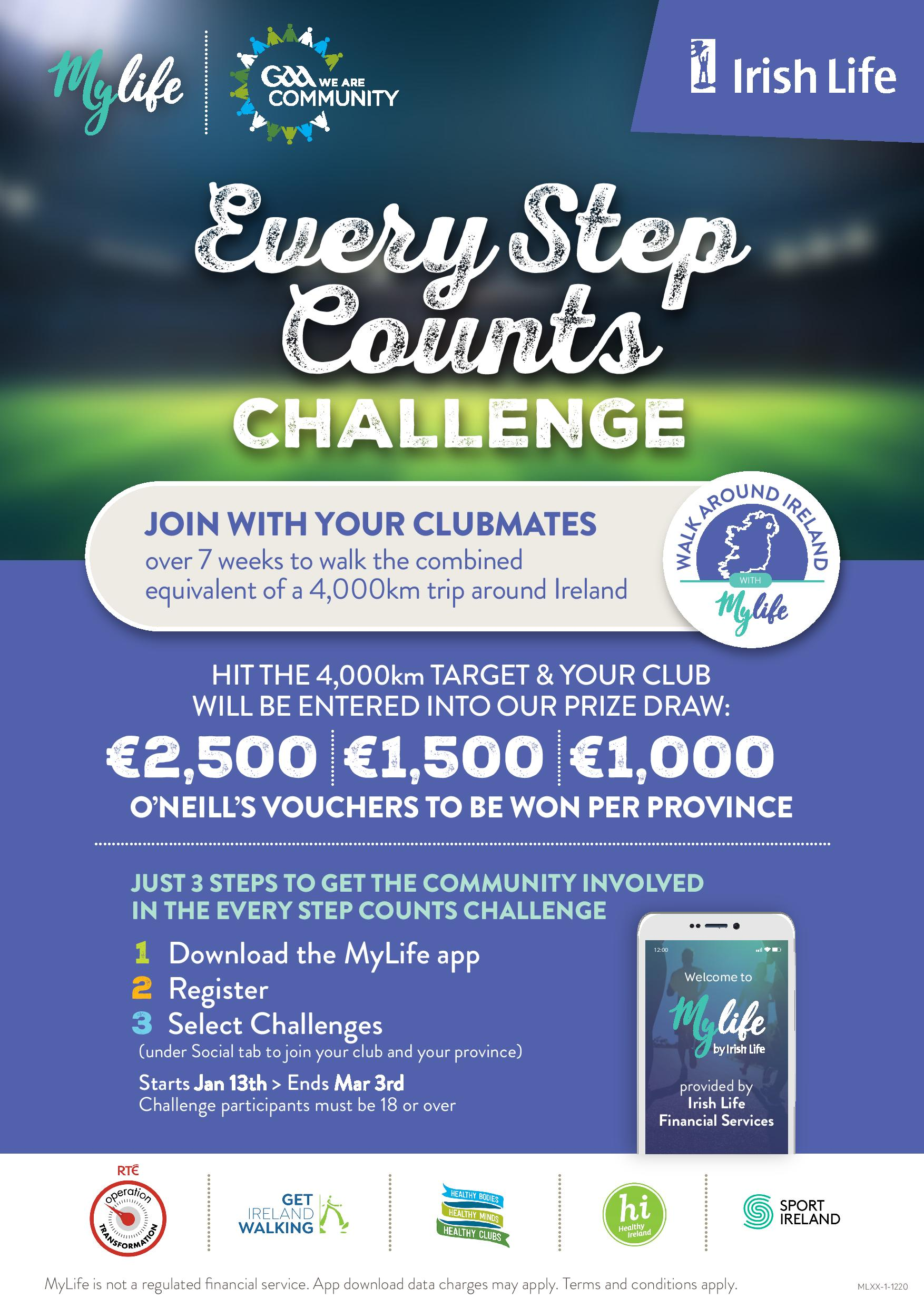 Every Step Counts Challenge